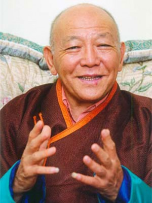 His Holiness the Ninth Khalkha Jetsun Dhampa Rinpoche