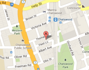 AITHP location Chatswood