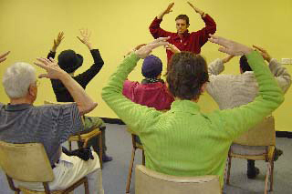 2005 - Overcoming Problems courses became part of a therapeutic-yoga-teachers training course that Gen Chris Ngawang Yangchen designed. AITHP trains only a few people, after which they teach yoga by donation within AITHP. Gen-la is recognised as a Senior Yoga Teacher by Yoga Australia.